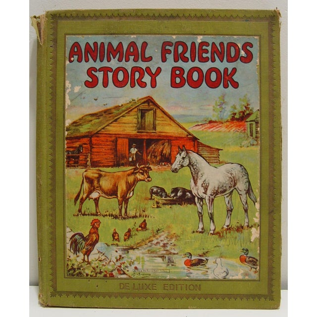 An Animal Friends Story Book, by Watty Piper. Illustrations by P.J. Bayzand, Clara M. Burd and Hugh Spencer. Platt & Munk,...