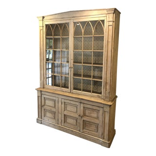 Early 19th Century Antique Swedish Gustavian Breakfront For Sale