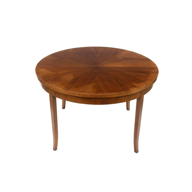 1960s Round Dining Table by t.h. Robsjohn-Gibbings for Widdicomb, Model 4322 For Sale - Image 5 of 12