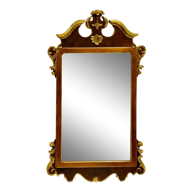 Vintage Decorative Crafts Italian Federal Style Mirror For Sale