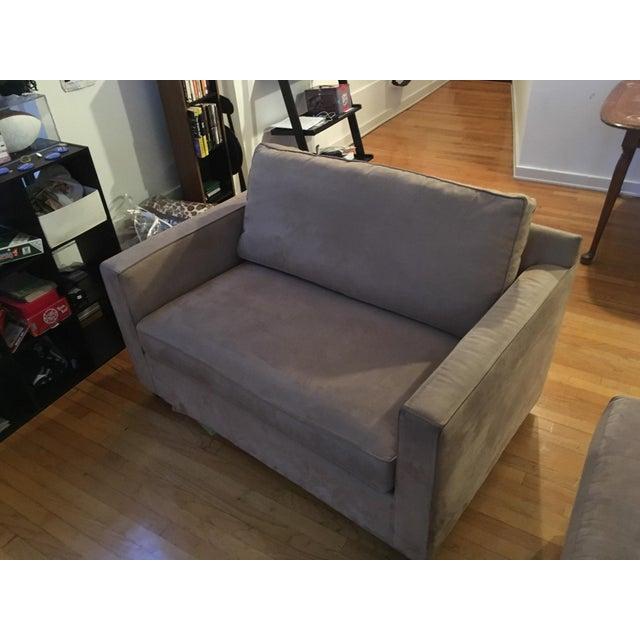 Groovy Crate Barrel Davis Twin Sleeper Sofa Inzonedesignstudio Interior Chair Design Inzonedesignstudiocom