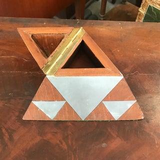 Modern Inlay Pyramid Box Preview