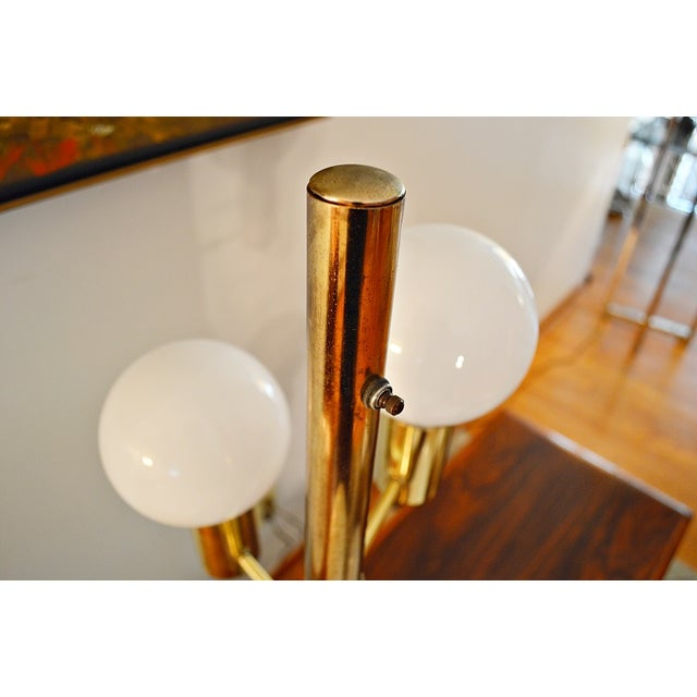 Mid-Century Space Age Descending Ball Table Lamp - Image 4 of 7