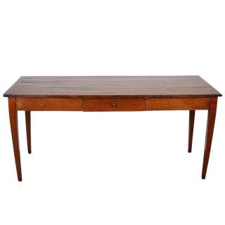 19th C. Italian Cherry Wood Farm Table