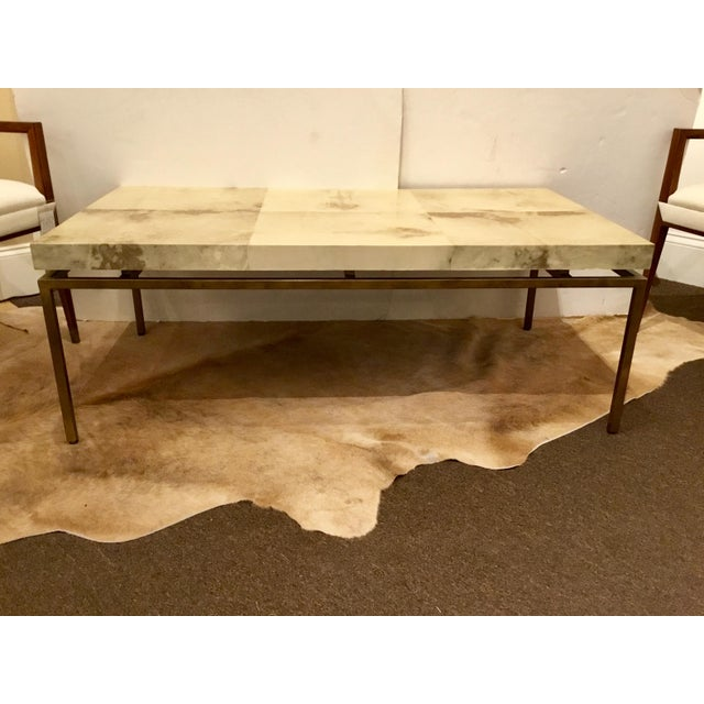 Brass Modern Interlude Home Hampton Brass Coffee Table For Sale - Image 7 of 7