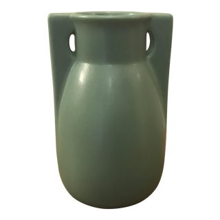 Teco 2 Buttress Pottery Vase