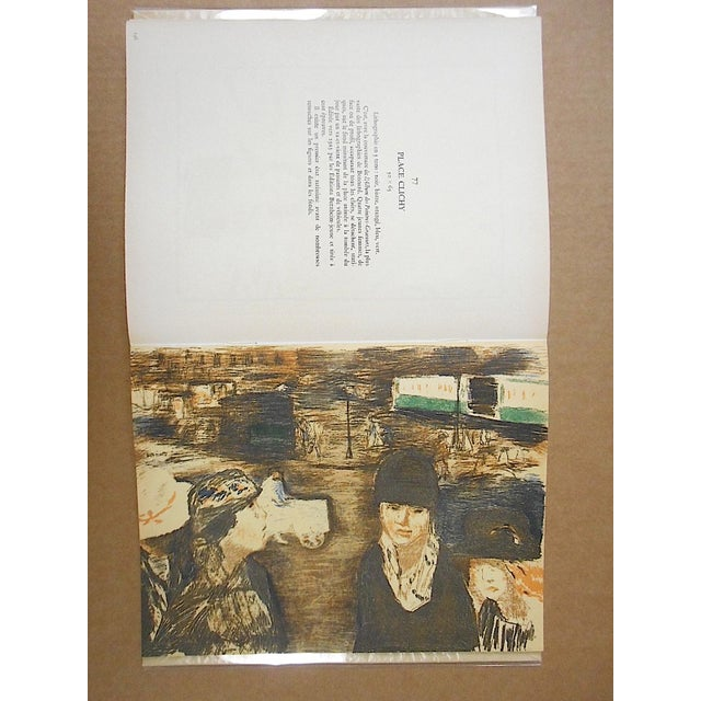 """Black Vintage Mid Century Illustrated Book-""""Bonnard Lithographie""""-First Edition-Profusely Illustrated For Sale - Image 8 of 12"""