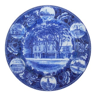 Wedgwood Cobalt Blue Plate For Sale