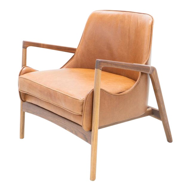 Hand Crafted Sculpted Walnut Camel Seal Chair For Sale