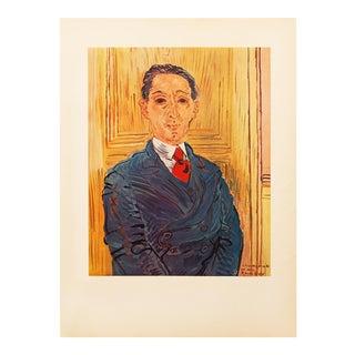 1954 Raoul Dufy, First Edition Portrait of M. Nico Mazaraki For Sale