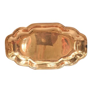 1960s Mid-Century Modern Copper Tray For Sale