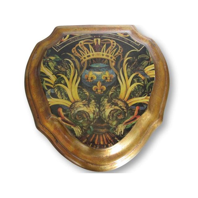 Vintage Enamel Koi Fleur De Lis Box - Image 5 of 10