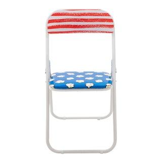 Seletti, Popcorn Folding Chair, Set of Four, Studio Job, 2018 For Sale