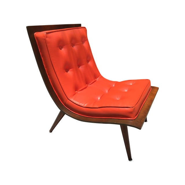 "Mid Century Modern ""Scoop"" Chair - Image 1 of 10"