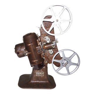 Bell & Howell Early 8mm Movie Projector. Circa 1934. All Original. Wonderful 30's Art Deco Display Piece.