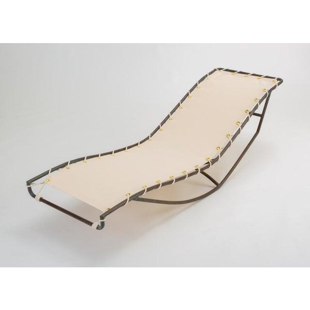 Brown Jordan Pair of Waikiki Rocking Lounge Chairs by Walter Lamb for Brown Jordan For Sale - Image 4 of 13