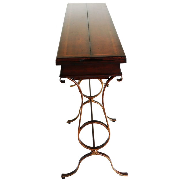 Stanley Furniture Stanley Villette Flip Top Console Table For Sale - Image 4 of 8