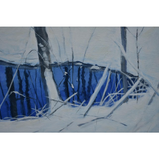 """""""The Pond and the Mountain"""" Painting by Stephen Remick For Sale In Providence - Image 6 of 13"""