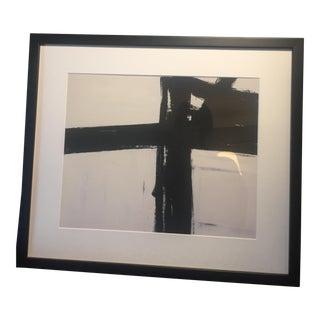 """Franz Kline """"Bethlehem"""" Framed Giclee Print"""