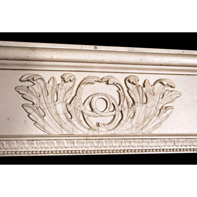 Salvaged White Window Molding Headers - A Pair - Image 5 of 7