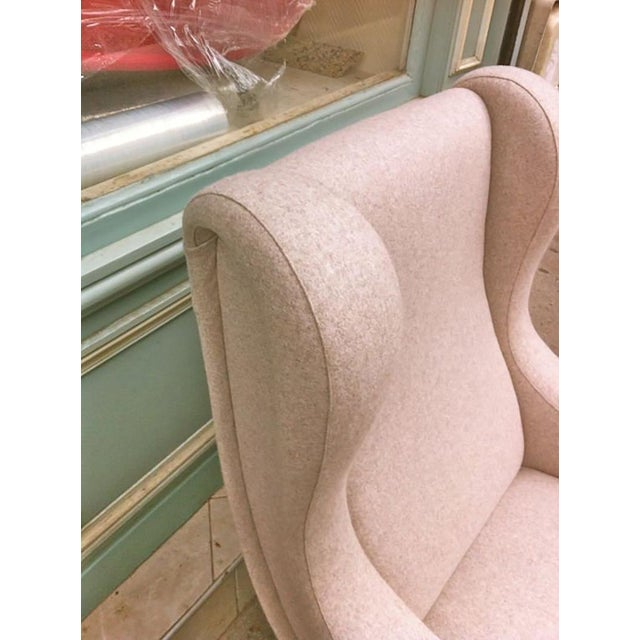 Zanuso Vintage Superb Model Senior, Newly Reupholsterd in Beige For Sale - Image 6 of 9