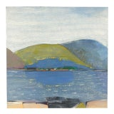 Image of Maine Landscape Painting For Sale