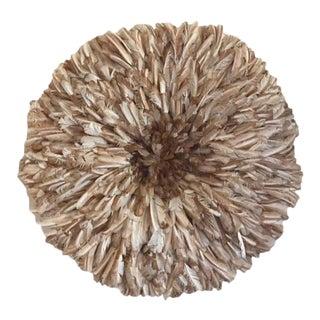 Tan Feather Juju Hat