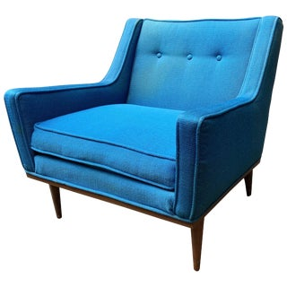 Early Milo Baughman for James Incorporated Upholstered Armchair For Sale