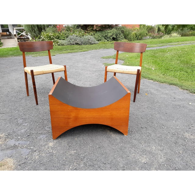 Mid-Century Modern Danish Modern Teak Coffee Table Base by R S Associates For Sale - Image 3 of 11