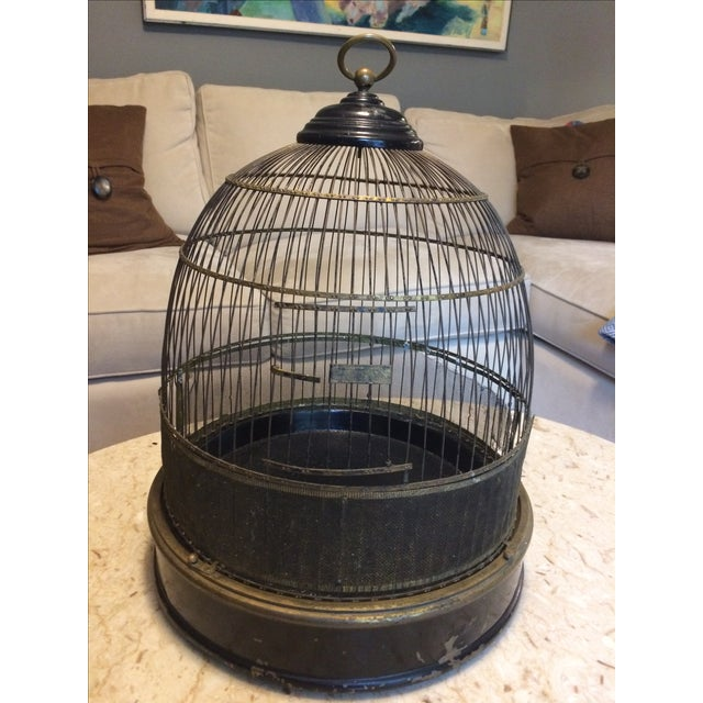 Vintage Bird Cage - Image 3 of 4