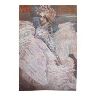 1920s Vintage Russian Swan Princess