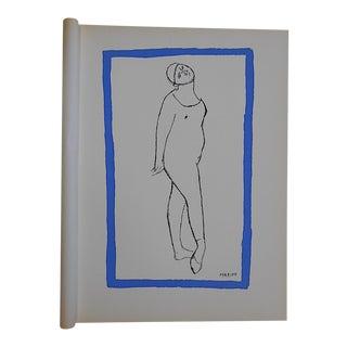 Vintage Ltd. Ed. Marino Marini Silkscreen-Equine-1959-Folio Size For Sale