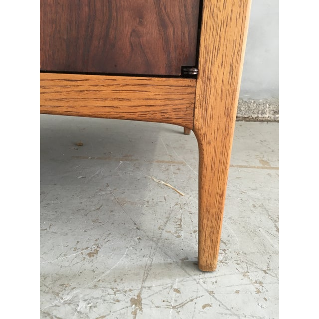 Vintage Mid-Century Modern Lane End Table Cabinet - Image 8 of 9