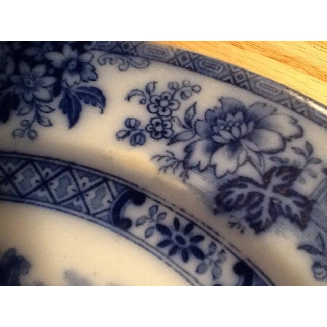 Doulton Madras Flow Blue Dinner Plates - Set of 5 - Image 5 of 5