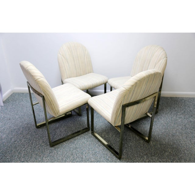 Thayer Coggin Thayer Coggin Mid-Century Dining Chairs - Set of 4 For Sale - Image 4 of 13