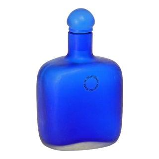 Paolo Venini Inciso Glass Flacon Manufactured by Venini 1992 For Sale