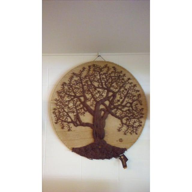 """Original """"Tree of Life"""" Fiber Art by Dan Freedman - Image 8 of 8"""