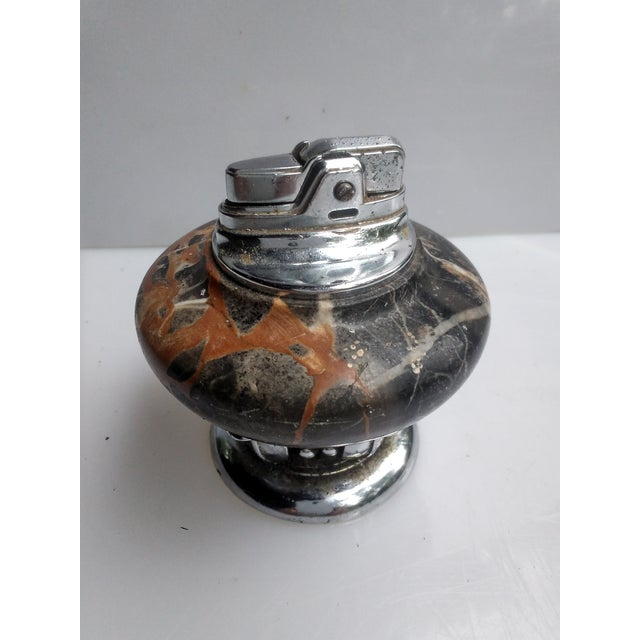 1950s 1950s Marble Table Top Lighter For Sale - Image 5 of 5