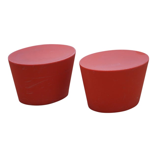 Maya Lin for Knoll Studio Outdoor Child's Seats - a Pair For Sale