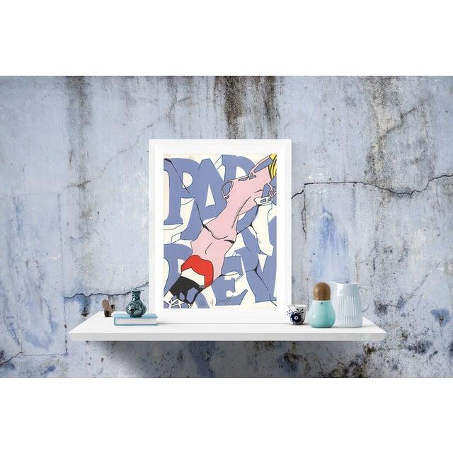 Modern Crash-Paris Review-Serigraph-SIGNED For Sale - Image 3 of 4