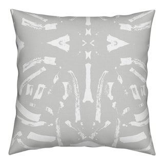 Tigre Reverse Dove Pillow by Kerri Rosenthal