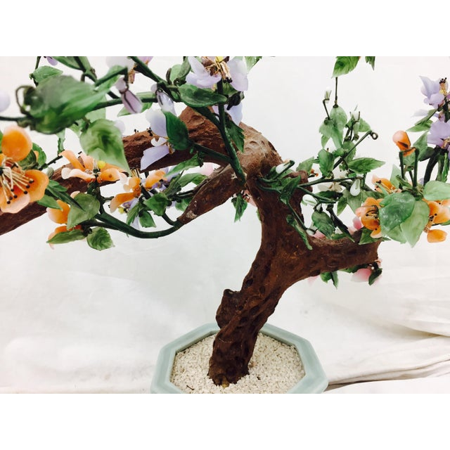 Vintage Mixed Stone Bonsai Tree Sculpture Chairish