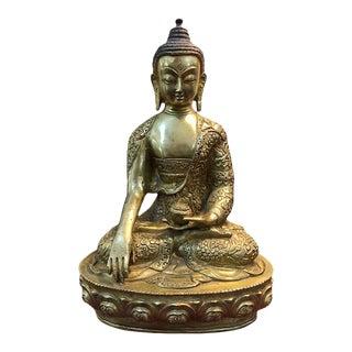 19th Century Nepalese Buddha Akshobhya Sculpture For Sale