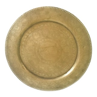 Zodiac Brass Plate For Sale