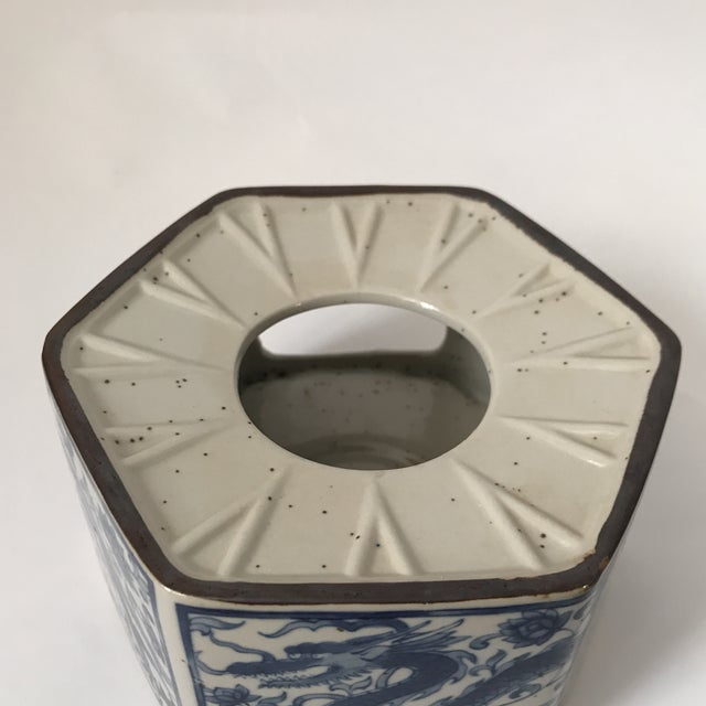 Blue & White Porcelain Vessel - Image 10 of 11