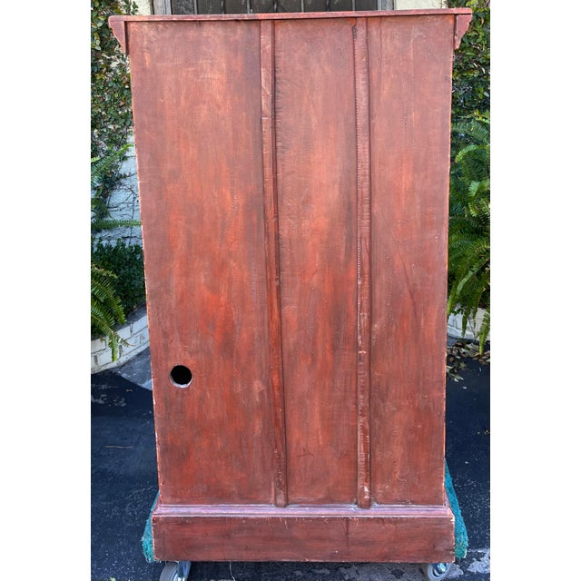 Equator Furniture Company 18th C Spanish Colonial Cabinet Mini Armoire For Sale In Los Angeles - Image 6 of 8