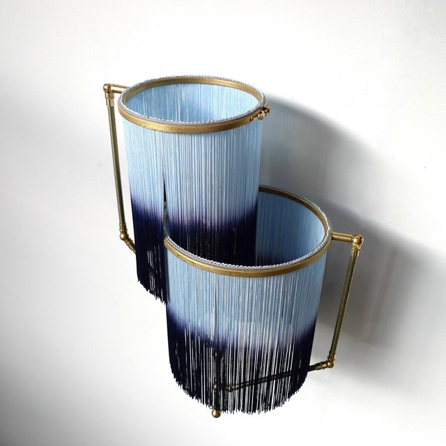 2010s Blue Charme Sconce Lamp, Sander Bottinga For Sale - Image 5 of 9