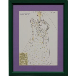 Givenchy Glam No.72 Fashion Illustration For Sale