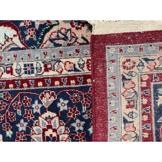 1990s Huge 12 by 16 Vintage Hand Made Persian Wool Rug For Sale - Image 4 of 8