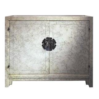 Vintage Henredon Faux Tortoiseshell Cabinet For Sale